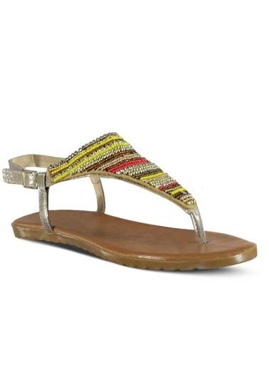 Marjin Sandalet Altın